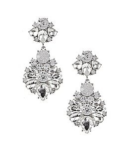 Image of Gemma Layne Baroque Statement Earrings