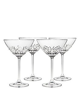 Image of Godinger Dublin Reserve Martini Glasses, Set of 4