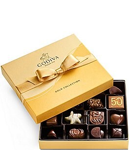 Image of Godiva Chocolatier 19-Piece Chocolate Gold Gift Box