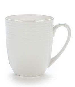 Image of Gorham Branford Grooved Bone China Mug
