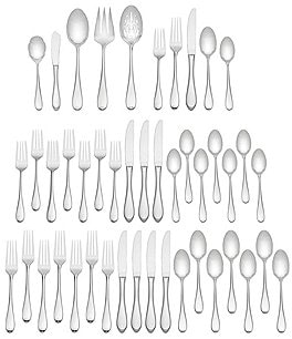 Image of Gorham Studio 45-Piece Stainless Flatware Set
