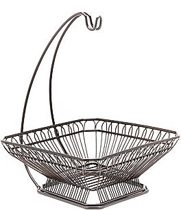 Image of Gourmet Basics by Mikasa French Countryside Fruit Basket with Banana Hook