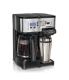 Image of Hamilton Beach FlexBrew Single-Serve & Carafe Coffeemaker