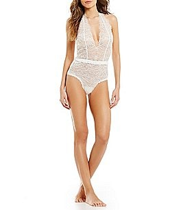 Image of Hanky Panky After Midnight Plaything Eyelash Lace Teddy