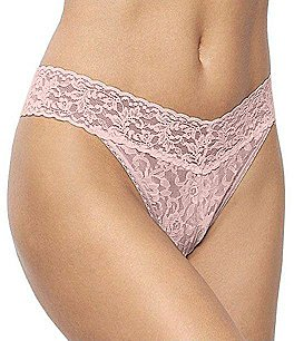 Image of Hanky Panky Signature Lace Original Rise Thong