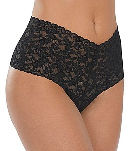 Image of Hanky Panky Signature Lace Retro Thong