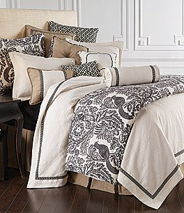 Image of HiEnd Accents Augusta Greek Key Matelassé Coverlet Set