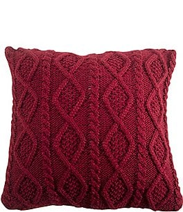 Image of HiEnd Accents Cable Knit Pillow