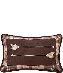 Image of HiEnd Accents Embroidery Arrow Pillow