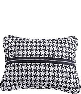 Image of HiEnd Accents Houndstooth Deco Pillow