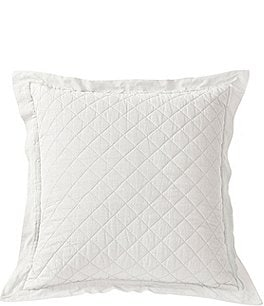 Image of HiEnd Accents Ranger Quilted Linen & Cotton Euro Sham
