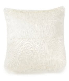 Image of Highline Bedding Co. Madrid Faux-Fur Square Pillow