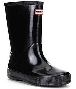 Image of Hunter First Gloss Kid's Waterproof Rain Boots