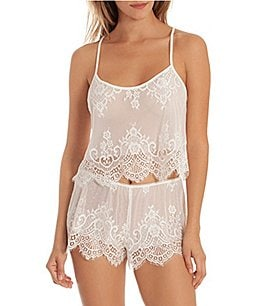 Image of In Bloom by Jonquil Lace Shorty Pajama Set