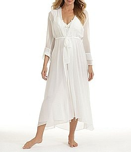 Image of In Bloom by Jonquil Long Bridal Chiffon Robe