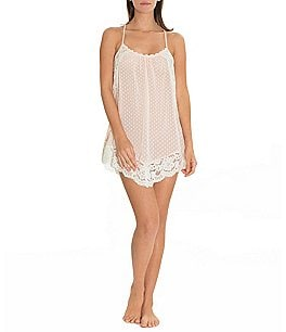 Image of In Bloom by Jonquil Meadow Dotted Chiffon Chemise
