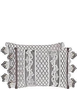 Image of J. Queen New York Belaire Crystal-Trimmed Breakfast Pillow
