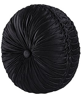 Image of J. Queen New York Bradshaw Button-Tufted Round Pillow