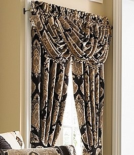 Image of J. Queen New York Bradshaw Damask Chenille Window Treatments