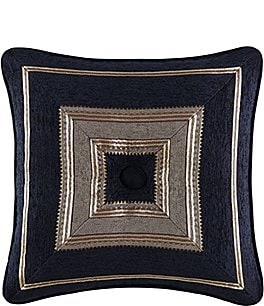 Image of J. Queen New York Bradshaw Mitered Square Pillow