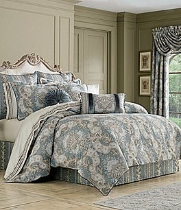 Image of J. Queen New York Crystal Palace Floral Jacquard Comforter Set