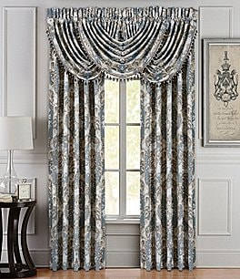 Image of J. Queen New York Crystal Palace Floral Jacquard Window Treatments
