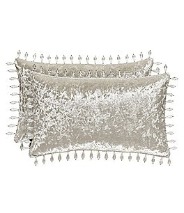 Image of J. Queen New York Dream Velvet Boudoir Pillow