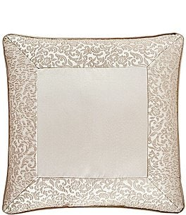 "Image of J. Queen New York La Scala Gold 18"" Square Pillow"