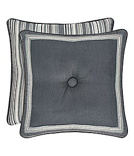 Image of J. Queen New York Miranda Button-Tufted Square Pillow