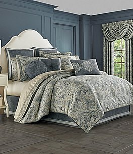 Image of J. Queen New York Miranda Damask Comforter Set