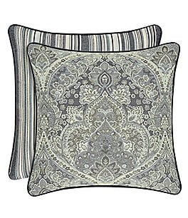 Image of J. Queen New York Miranda Damask Square Pillow