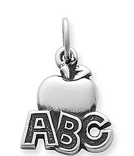 Image of James Avery ABC Apple Charm