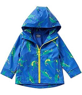 Image of Joules Little Boys 1-6 Dino-Print Rain Coat