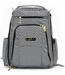 Image of Ju-Ju-Be Be Right Back Patterned Backpack Diaper Bag