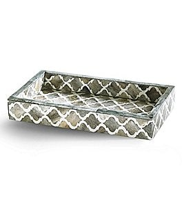 Image of Kassatex Marrakesh Trellis Bone Tray