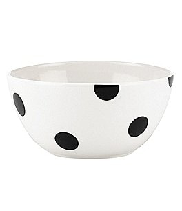 Image of kate spade new york All in Good Taste Deco Dot Stoneware Cereal Bowl