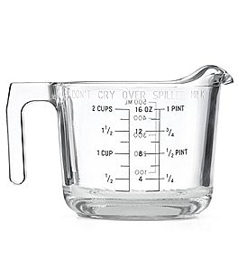 Image of kate spade new york All in Good Taste Glass Measuring Cup