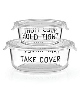 Image of kate spade new york All in Good Taste Round Food Storage Container Set