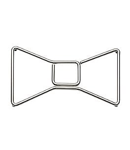 Image of kate spade new york All in Good Taste Stainless Steel Bow Trivet