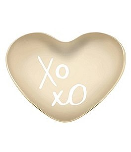 "Image of kate spade new york All That Glistens ""XOXO"" Heart Dish"
