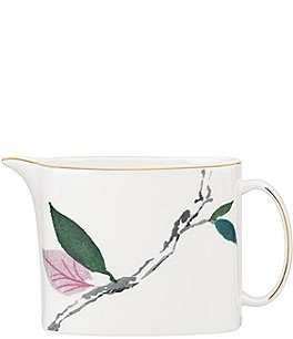 Image of kate spade new york Birch Way Floral Bone China Creamer