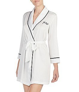 Image of kate spade new york Bridal Charmeuse Robe
