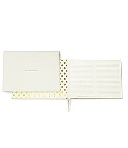 Image of kate spade new york Bridal Collection Wedding Guest Book