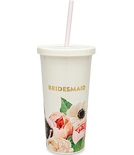 Image of kate spade new york Bridesmaid Floral Tumbler