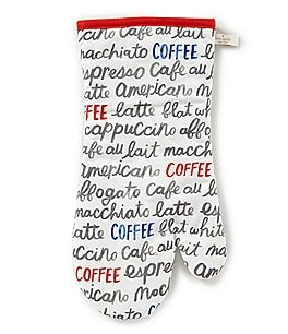 Image of kate spade new york Bright Eyes Coffee Oven Mitt