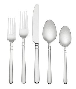 Image of kate spade new york Carlton Street 45-Piece Stainless Steel Flatware Set