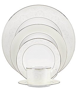 Image of kate spade new york Chapel Hill Lace 5-Piece Place Setting