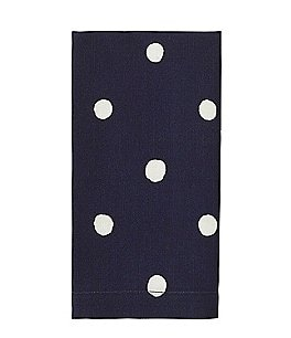 Image of kate spade new york Charlotte Street Reversible Dotted Cotton Table Linens