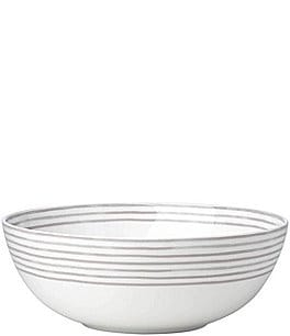 Image of kate spade new york Charlotte Street Striped Porcelain Serving Bowl