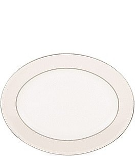 Image of kate spade new york Cypress Point Striped Oval Platter